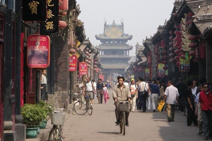 Древний китайский город Пинъяо