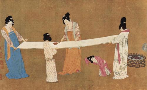 6000 летний китайский шелк