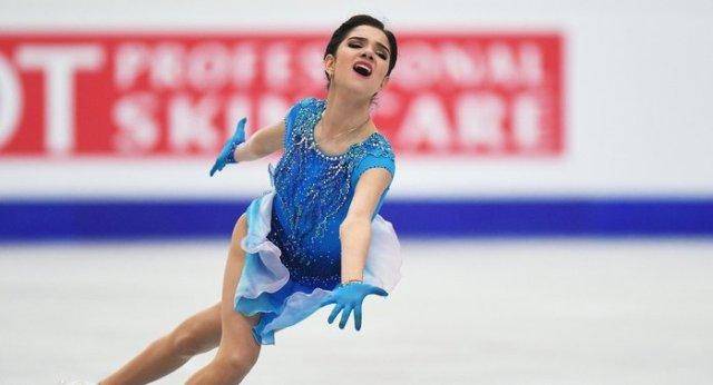 Красивая женщина рассказывает анекдот: Евгения Медведева об особых способностях к фигурному катанию