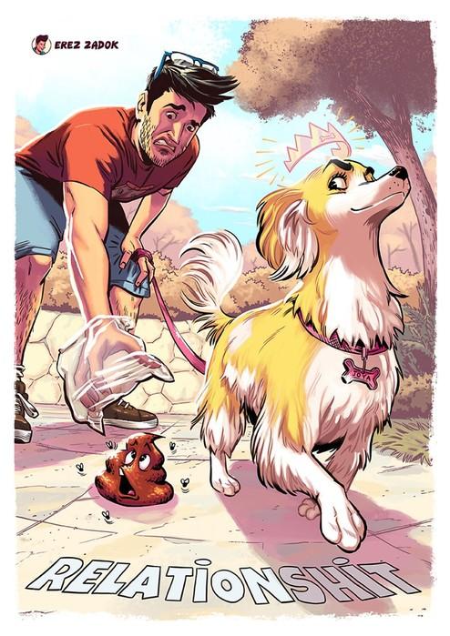 20 ситуаций, отлично знакомых каждому владельцу собаки (невоспитанной)
