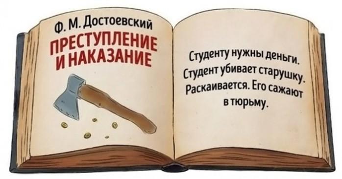 Классическая литература в кратком пересказе: для очень занятых людей