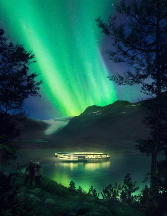 Суперпроект норвежского отеля на солнечных батареях в арктическом климате