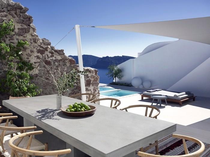 Летний домик резиденция на вулкане в Греции