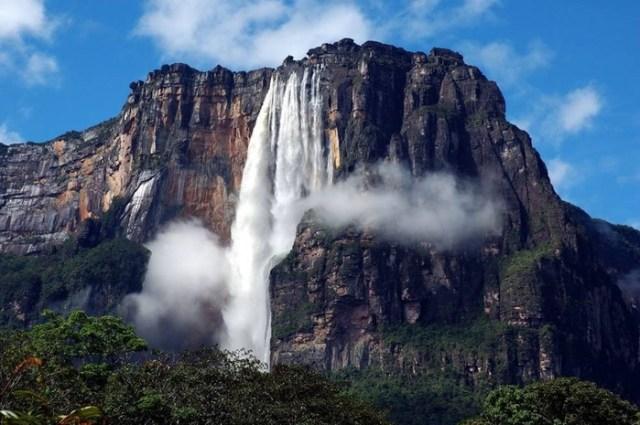 Топ 10 самых высоких водопадов в мире