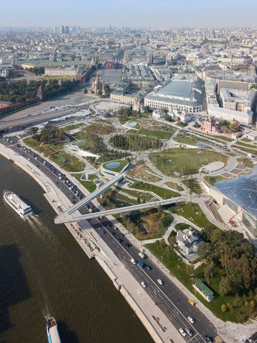 Фотографии парка «Зарядье» в Москве: прогулки