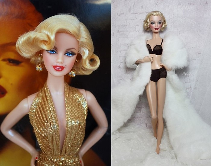Куклы двойники знаменитостей: фотографии интересных Барби