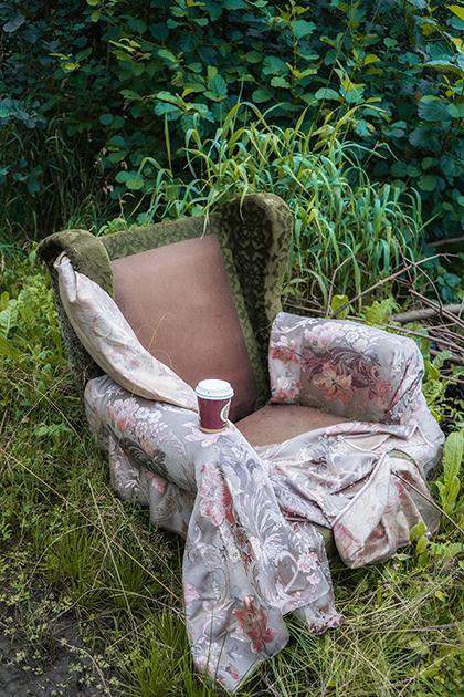 Фотограф Полина Вашингтон искала смысл жизни и нашла его в мусоре