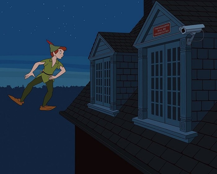Как бы выглядели герои Диснея в ХХI веке: Пиноккио с селфи палкой и Русалочка мутант