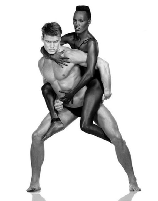 Дольф Лундгрен и Грейс Джонс: совместные фотографии «универсального солдата» и «черной амазонки»