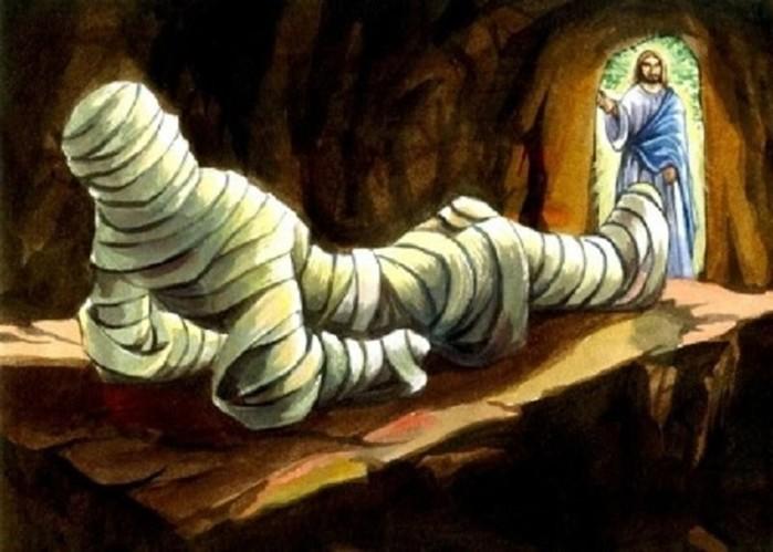 Почему Лазарь после воскрешения ел только сладкое