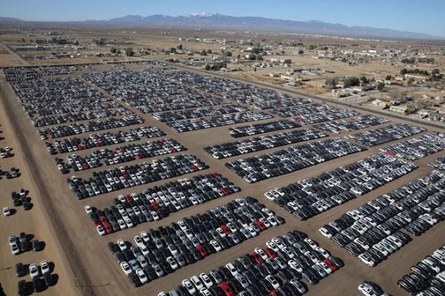 Самое большое кладбище автомобилей Volkswagen: последствия грандиозного скандала