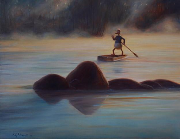 Утки повсюду! или Любите ли вы уток так, как их любит финский художник?