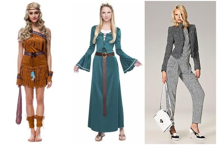 Как менялся женский наряд с первобытных времен
