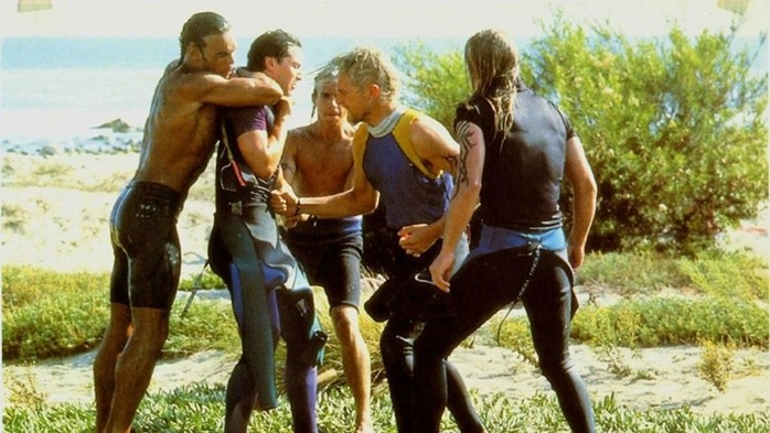 «На гребне волны» (1991): интересные факты офильме