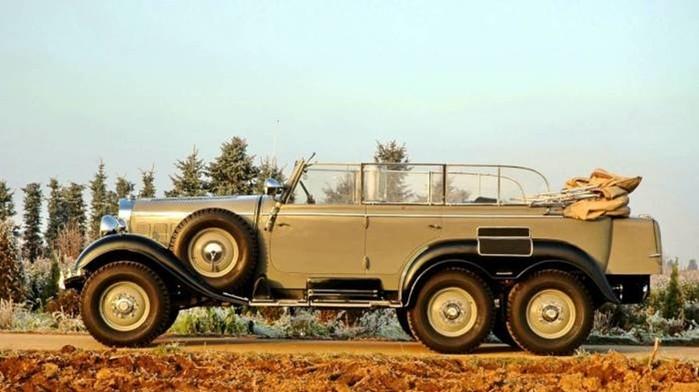 5 любимых автомобилей Адольфа Гитлера: какие модели авто предпочитал фюрер