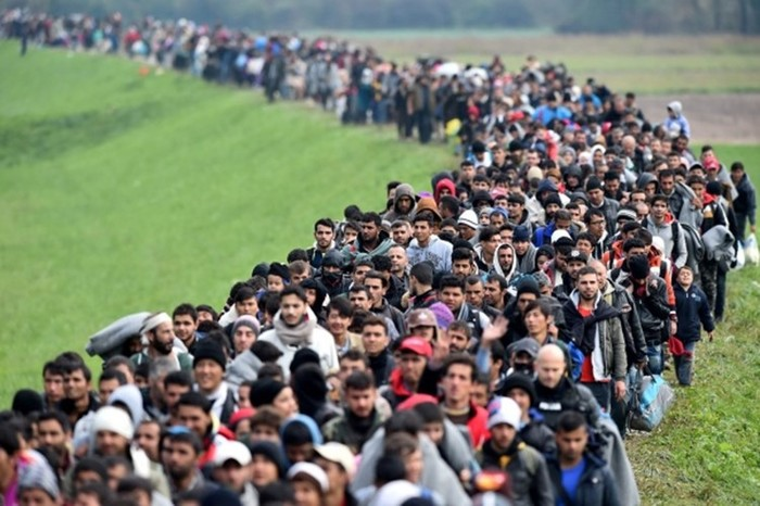 Мигранты приехали в Европу и превратили ее в помойку
