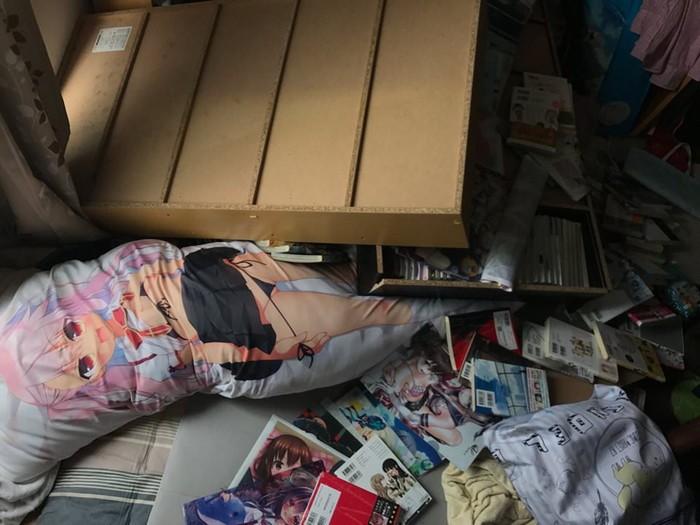 Землетрясение раскрыло тайную страсть японки к порно