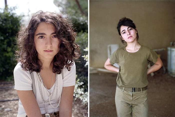 Как с возрастом меняются девушки еврейки