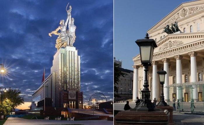 В Москве есть скульптуры, которые не прошли цензуру и их запретили