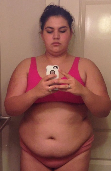 Толстая девушка за три года изменила себя до неузнаваемости