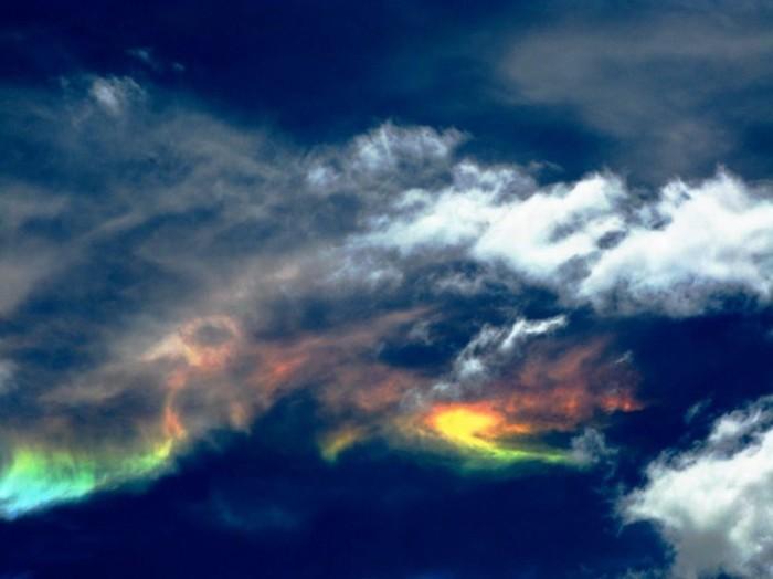 Очень редкие атмосферные явления на фотографиях