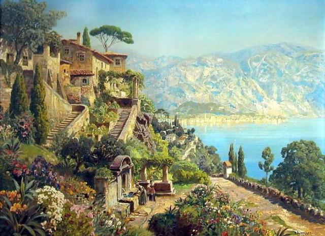 Лето в картинах талантливых художников современности