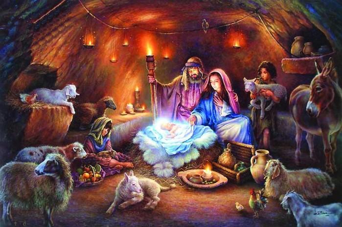 Старинная легенда о новогодней ёлке