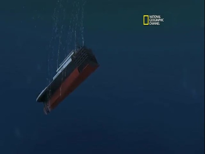Как на самом деле утонул Титаник
