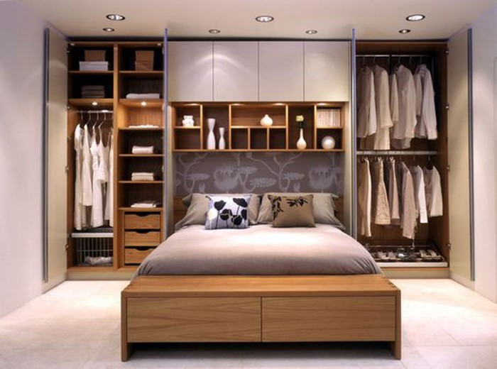 Маленькая спальня: как хранить в ней вещи