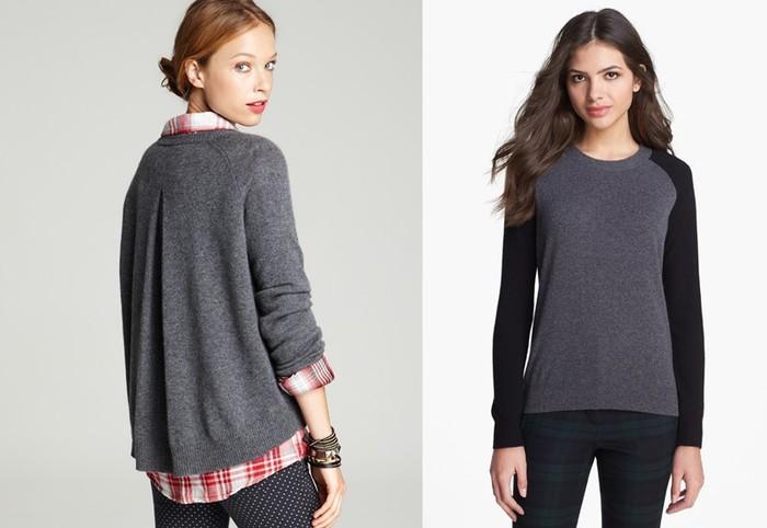 Как правильно выбрать кашемировый свитер: категории кашемира и их особенности