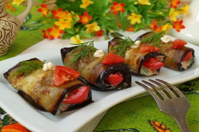 Знаменитый «Тёщин язык» – Вкусные салаты из баклажанов