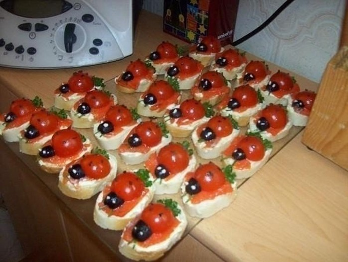 Подборка бутербродов для праздничного и обычного стола