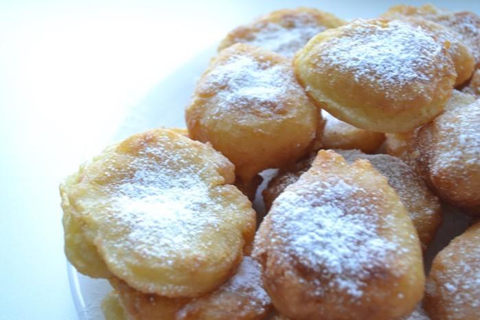 Пончики с плавлеными сырками— простой и вкусный рецепт!