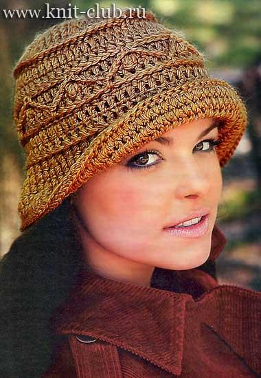 вязаные шапки крючком | Записи в рубрике вязаные шапки ...