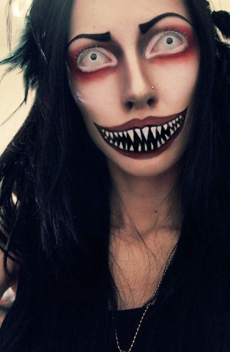 Самые жуткие образы на Хэллоуин