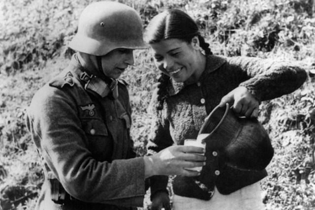 Порочные связи немецких военнопленных с советскими женщинами