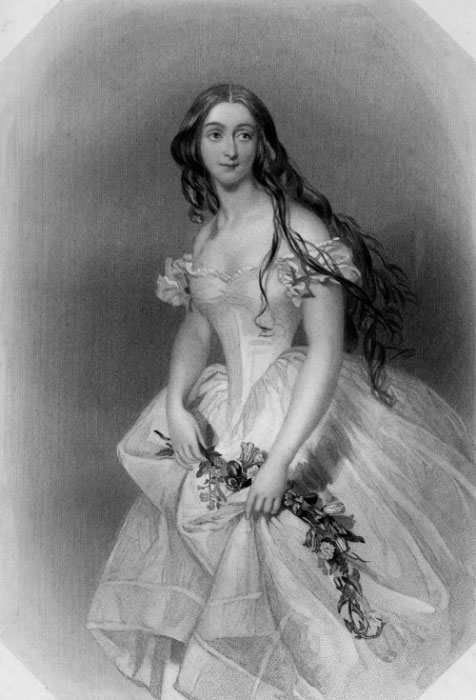 Красавицы Викторианской эпохи на старинных британских гравюрах