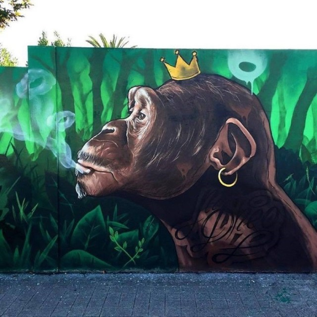 Уличный художник MrDheo (21 фото)