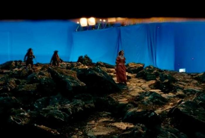 Фильм «Пираты Карибского моря» до и после спецэффектов