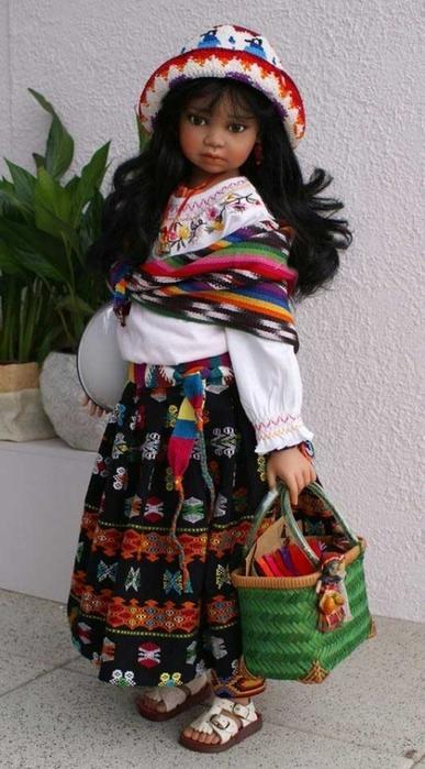 Прелестные куклы от Анжелы Саттер