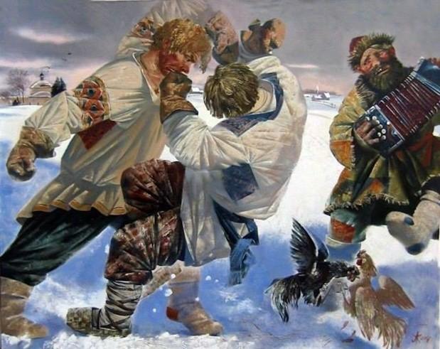 Стенка на стенку: история русского кулачного боя