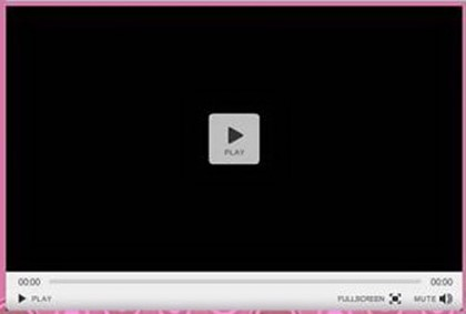 Скины флеш плеера для Wordpress: вид на странице после изменения настроек