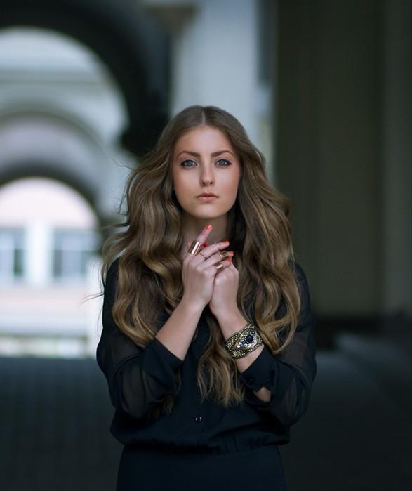 Красивые фотографии: портреты женщин из интернета