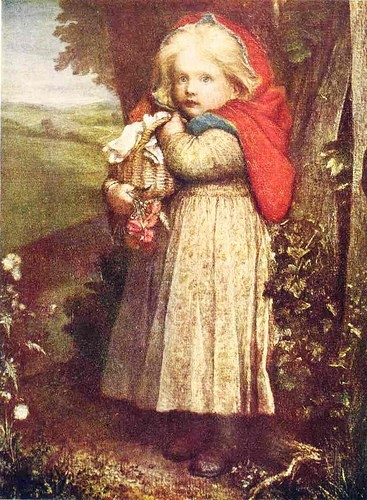 George Frederic Watts Red Riding Hood