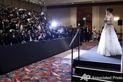 Платья на «Оскаре» (фото)
