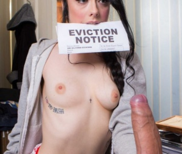 Slutty Teen Alessa Savage Takes Landlords Huge Fuck Rod To Pay Her