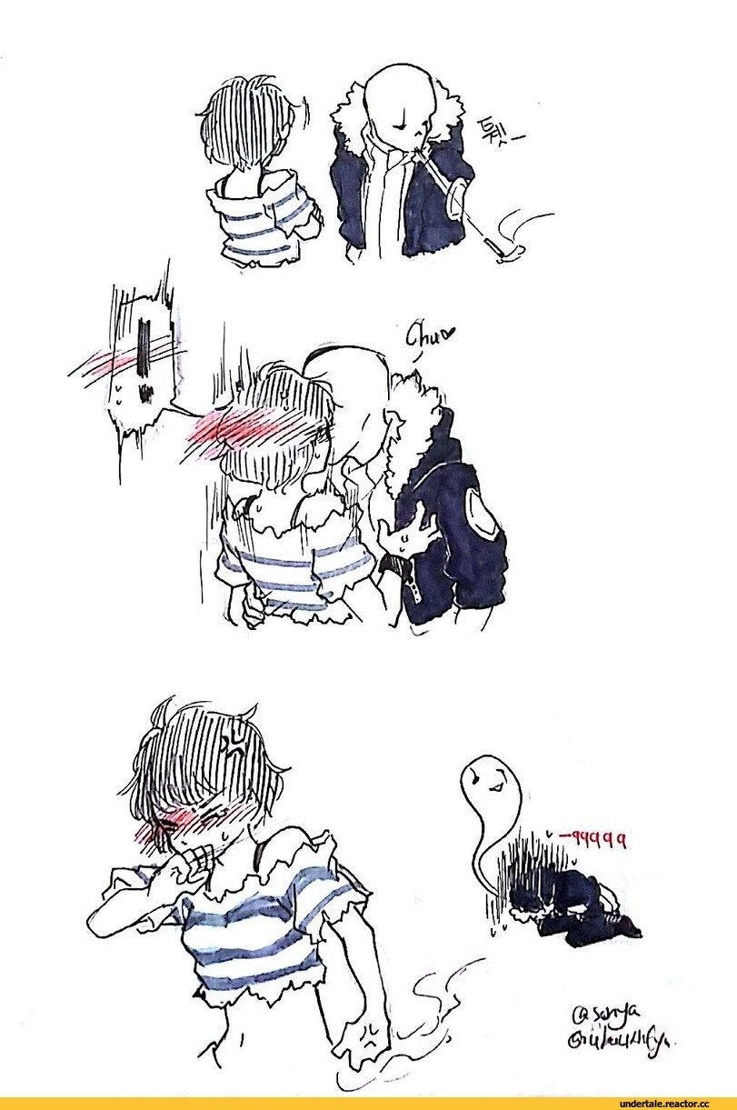 Sans X Oc Base Undertale