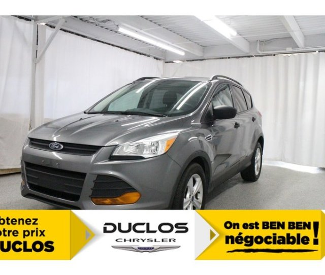 Ford Escape S Camerahitchcuirbluetoothmagsa C