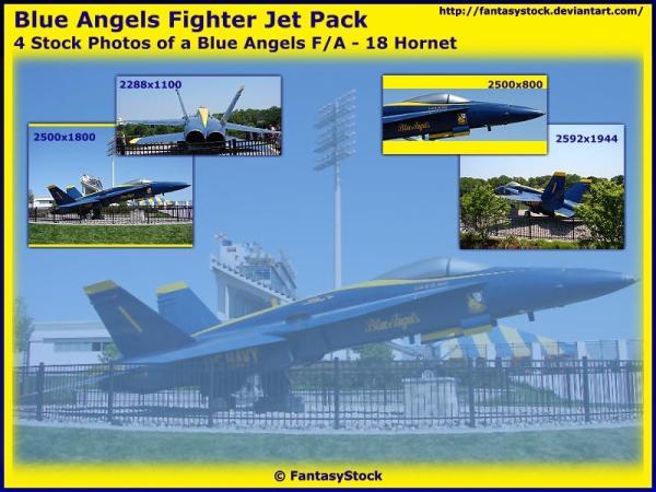 Blue Angels Fighter Jet Pack by FantasyStock on DeviantArt