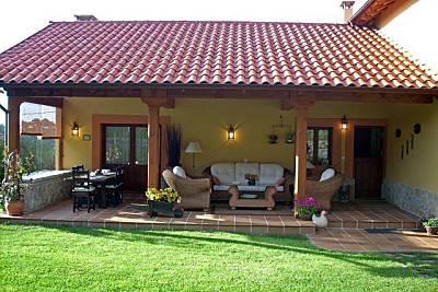 Villa de 4 habitaciones a 2 km de la playa.        Asturias